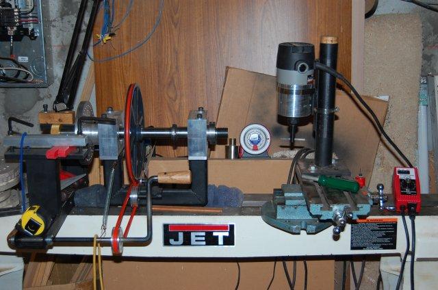 custom ornamental rose engine lathe completed machine